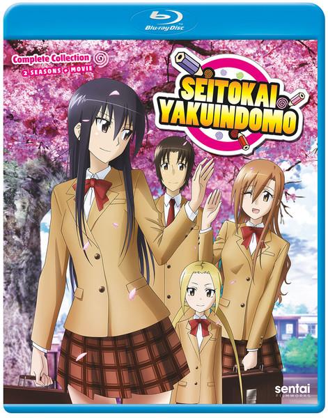 Seitokai Yakuindomo Blu-ray