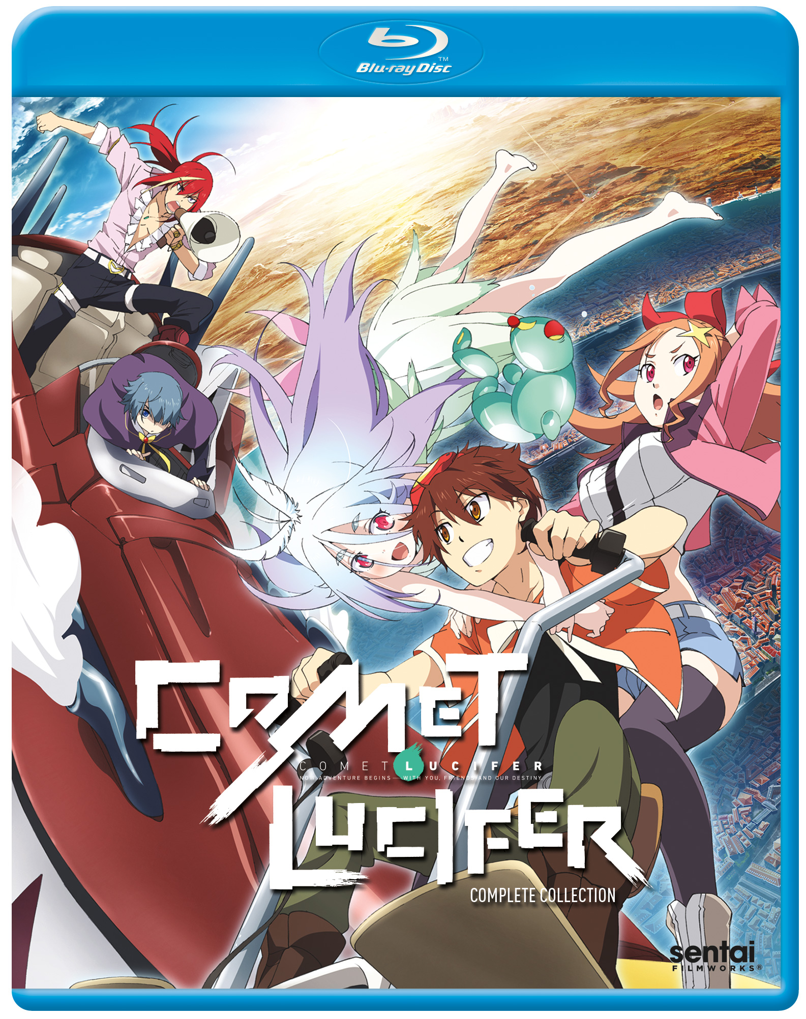 Comet Lucifer Blu-ray