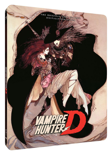 Vampire Hunter D OVA Steelbook Blu-ray