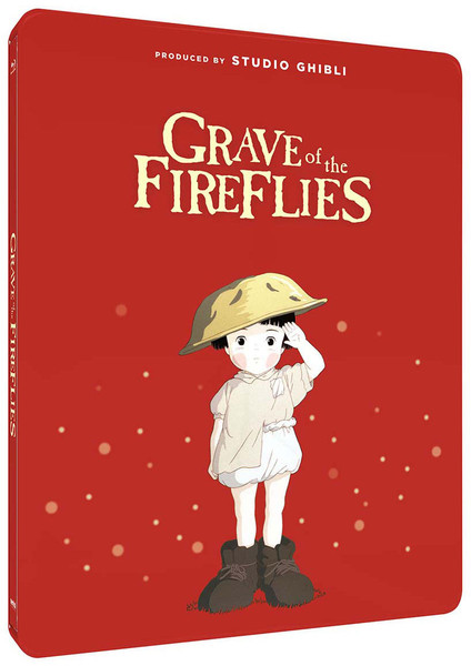 Grave of the Fireflies Steelbook Blu-ray
