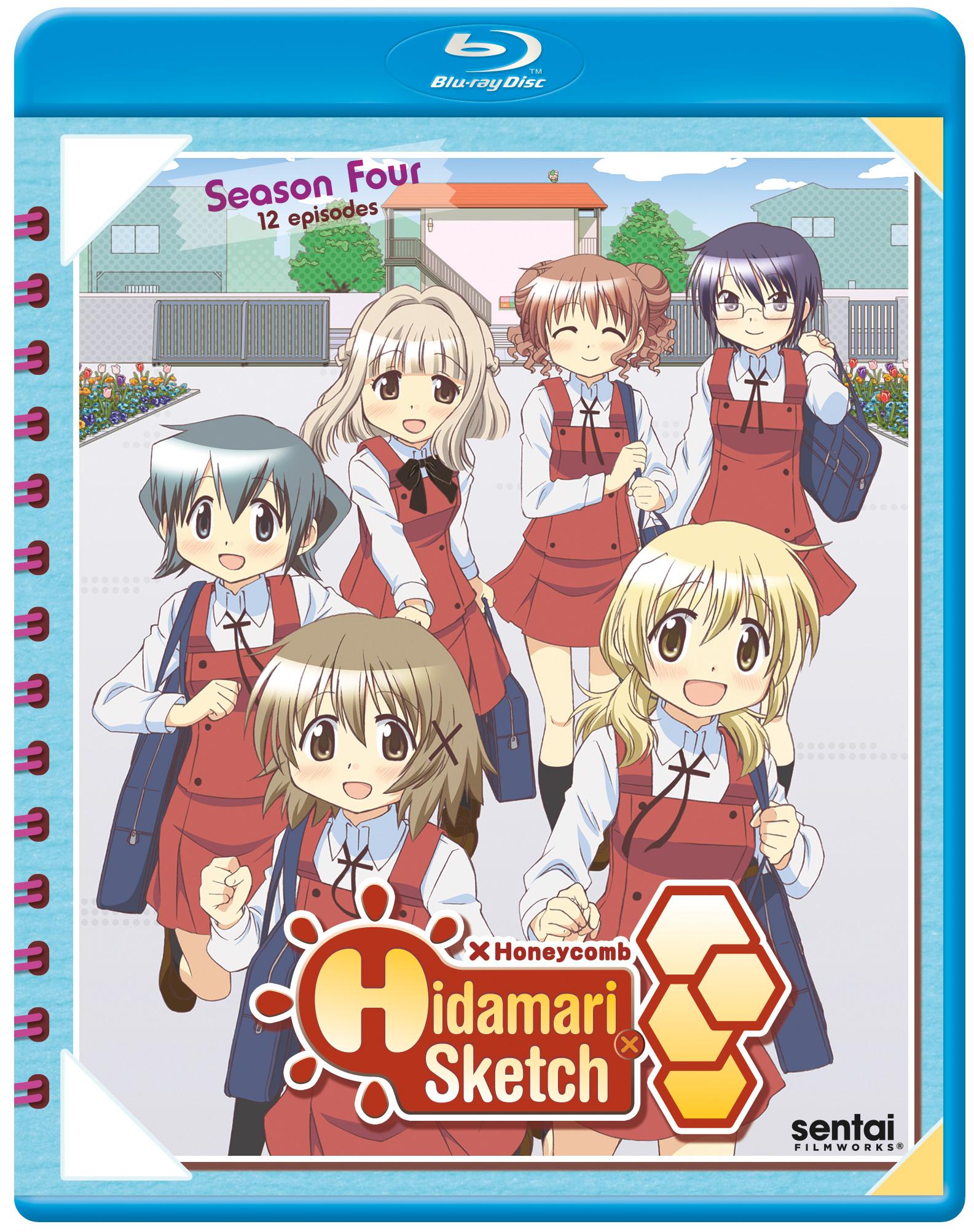 Hidamari Sketch Honeycomb Blu-ray 816726022000