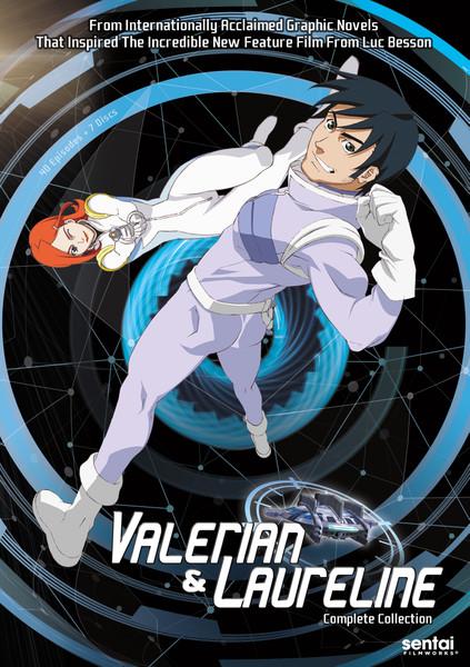 Time Jam Valerian & Laureline DVD