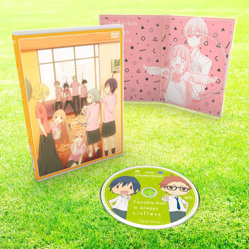 Tanaka-kun Is Always Listless Premium Box Set Blu-ray/DVD