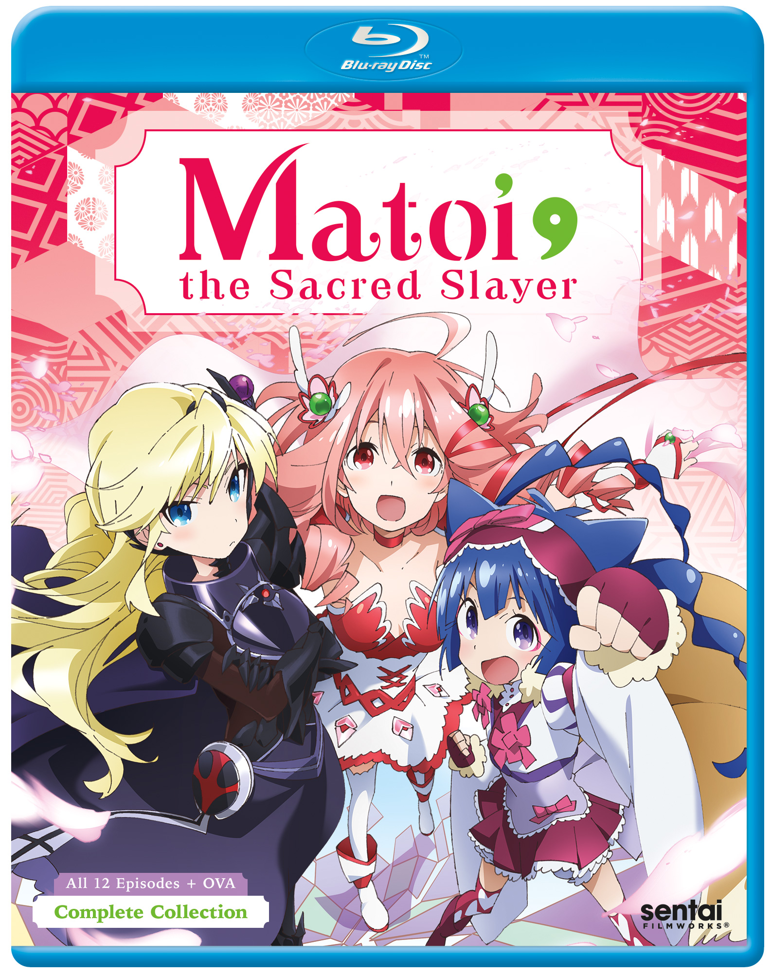Matoi the Sacred Slayer Blu-Ray 816726022215