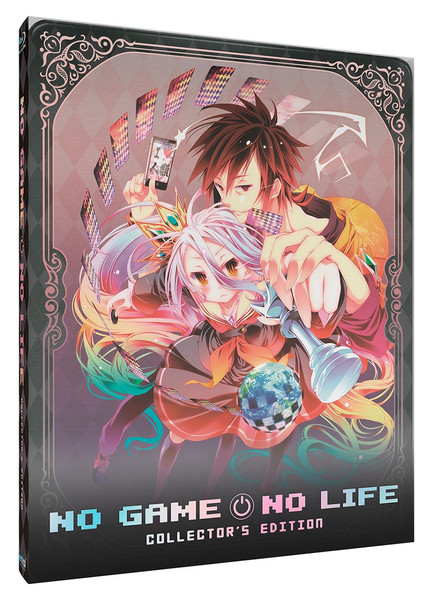 No Game No Life TV Series + Movie Collection Steelbook Blu-ray