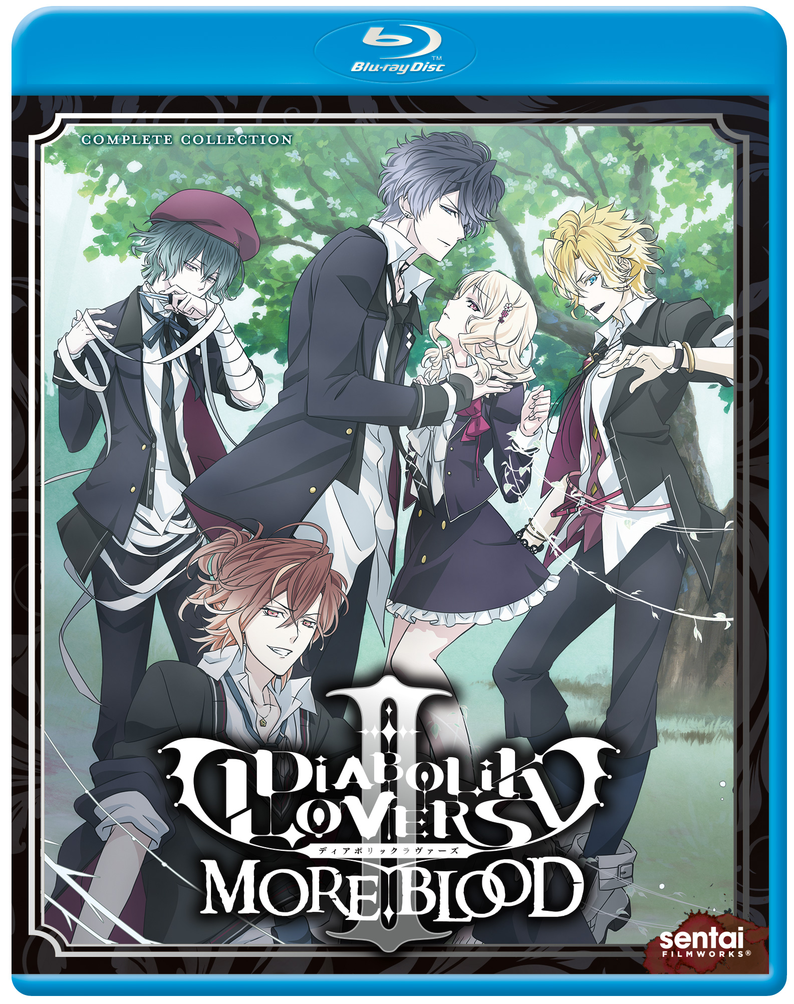 Diabolik Lovers II More Blood Blu-ray 816726022406