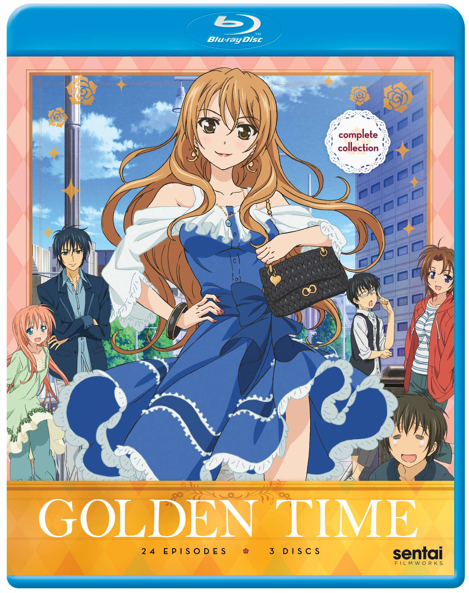 Golden Time Complete Collection Blu-ray 816726022413
