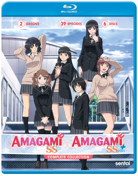 Amagami SS and Amagami SS+ Complete Collection Blu-ray