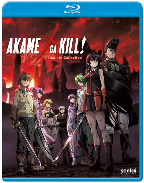 Akame ga Kill Complete Collection Blu-ray