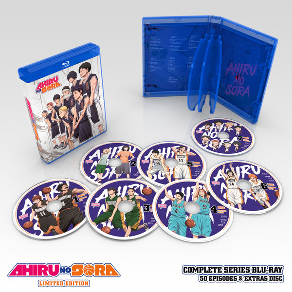 Ahiru no Sora Complete Collection Premium Box Set Blu-ray