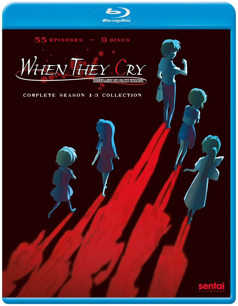 When They Cry Complete Series Blu-ray 816726023014