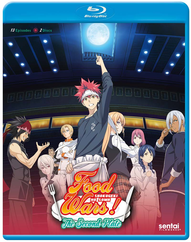 Food Wars! The Second Plate Blu-ray 816726023212