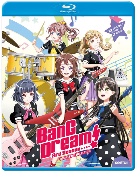 BanG Dream! Season 3 Blu-ray