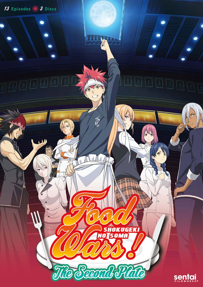 Food Wars! The Second Plate DVD