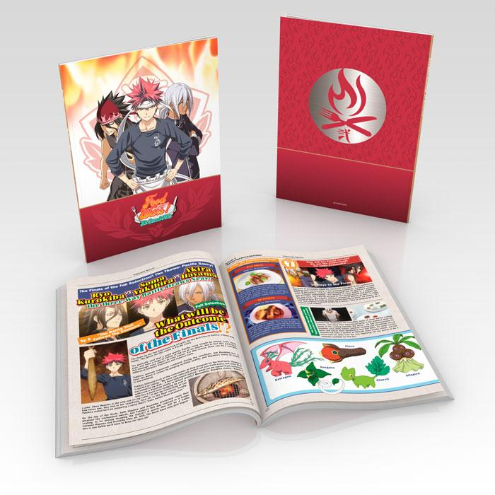 Food Wars! The Second Plate Premium Box Set Blu-ray/DVD