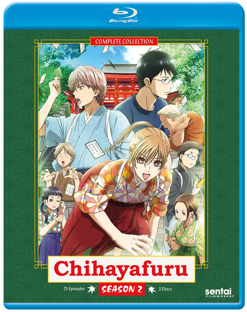 Chihayafuru Season 2 Blu-ray 816726023519