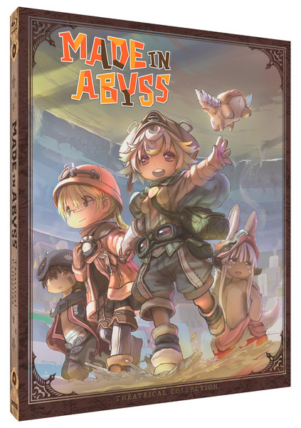 Made In Abyss Theatrical Collection Steelbook Blu-ray
