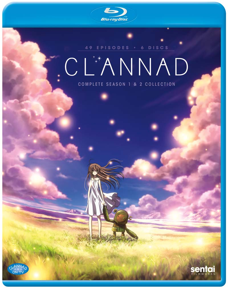 Clannad and Clannad After Story Complete Collection Blu-Ray