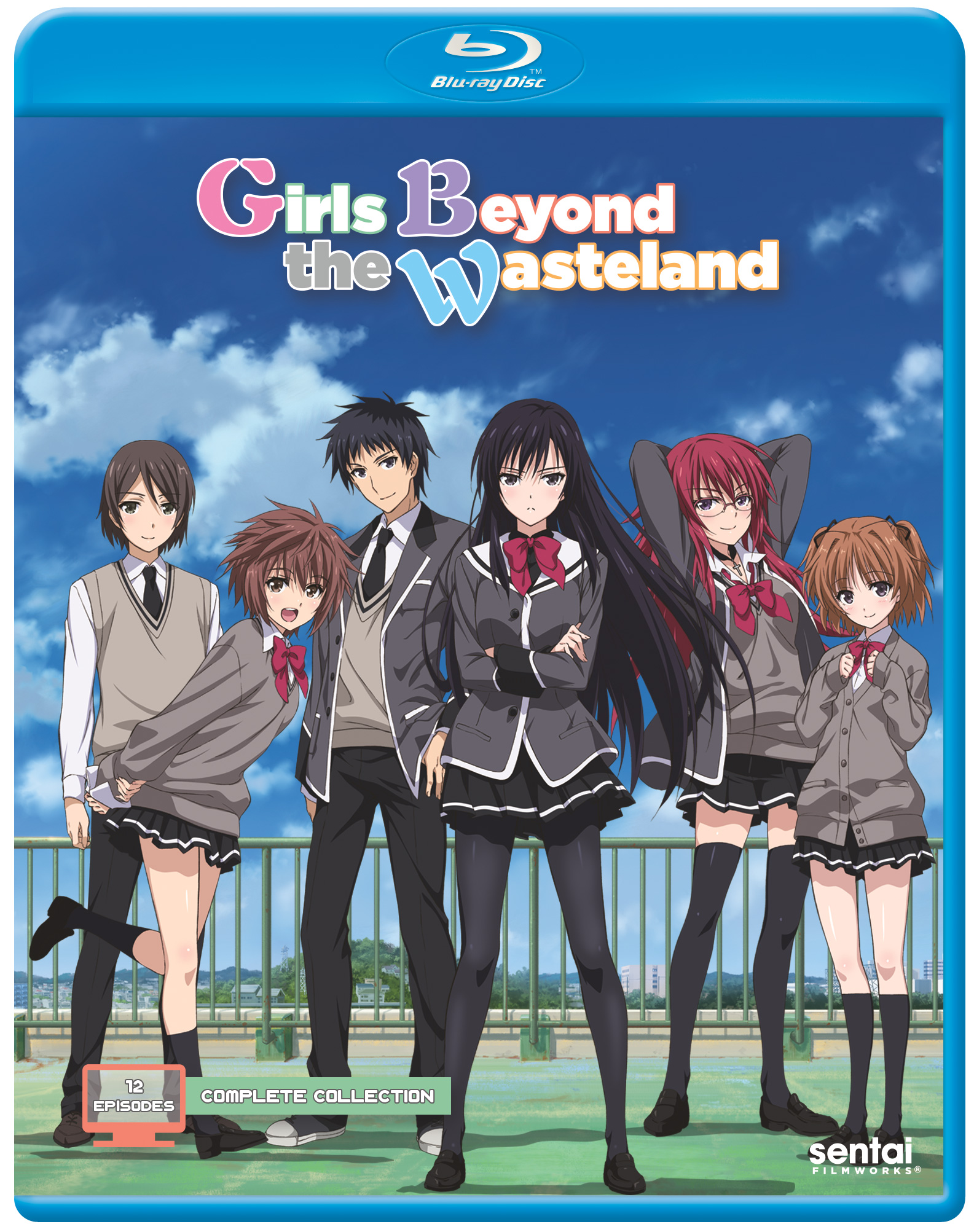 Girls Beyond the Wasteland Blu-ray 816726024103