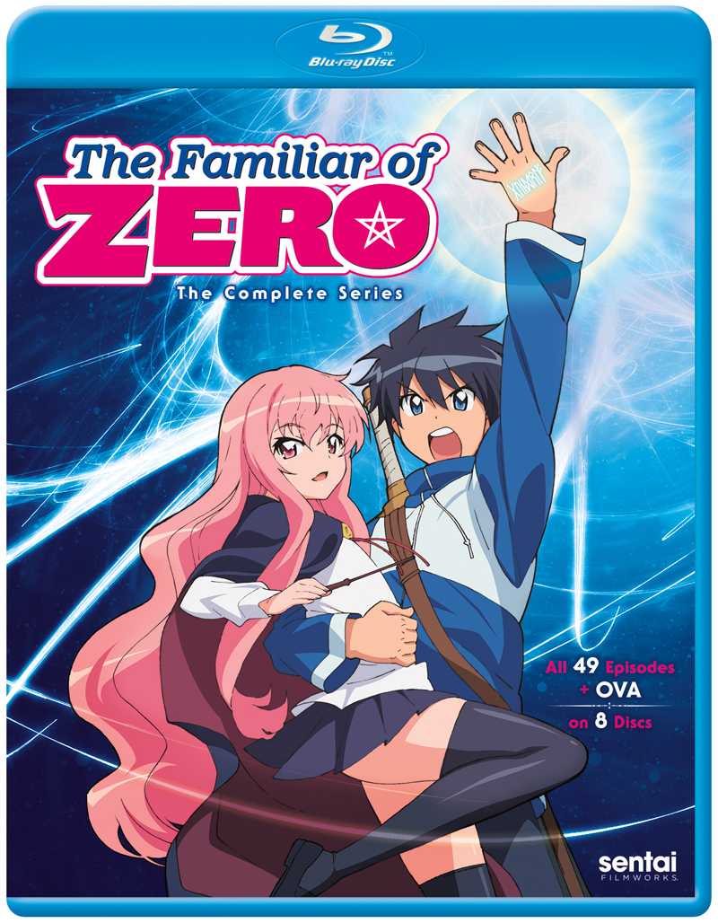 The Familiar of Zero Complete Series Blu-ray 816726024110