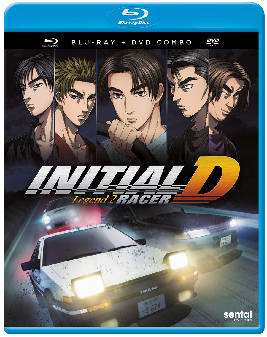 Initial D Legend 2 Racer Blu-ray/DVD 816726024318