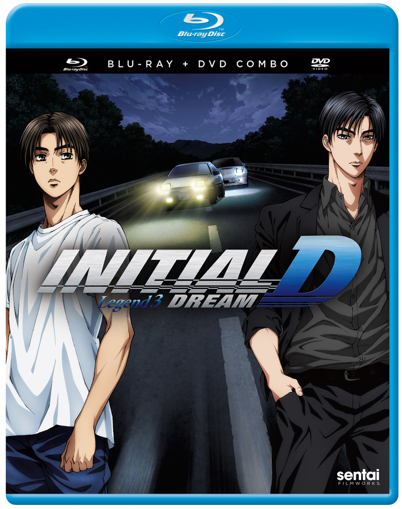 Initial D Legend 3 Dream Blu-ray/DVD