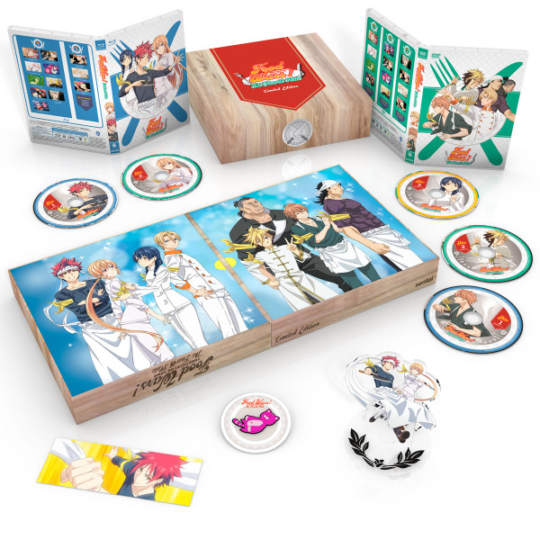Food Wars! The Fourth Plate Premium Box Set Blu-ray/DVD