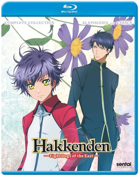 Hakkenden Eight Dogs of the East Complete Collection Blu-ray