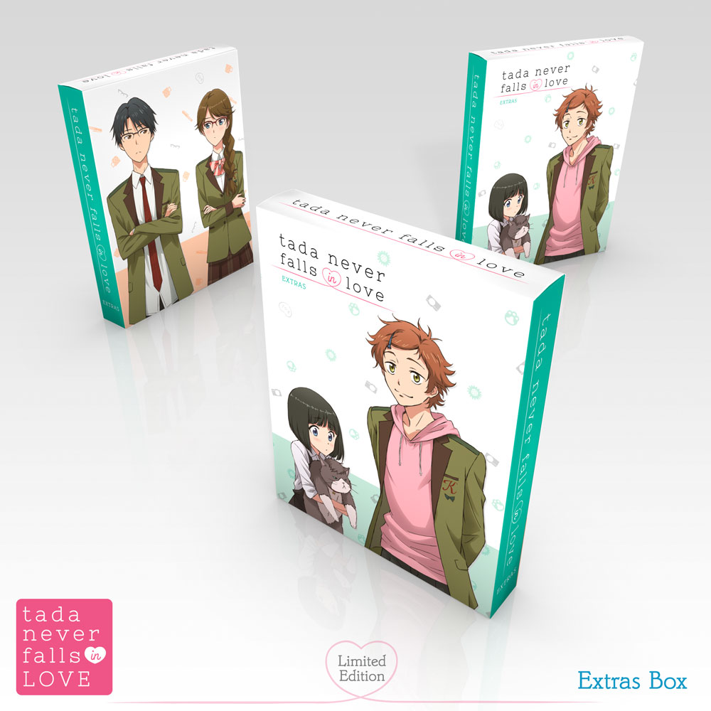 Tada Never Falls in Love Premium Box Set Blu-ray