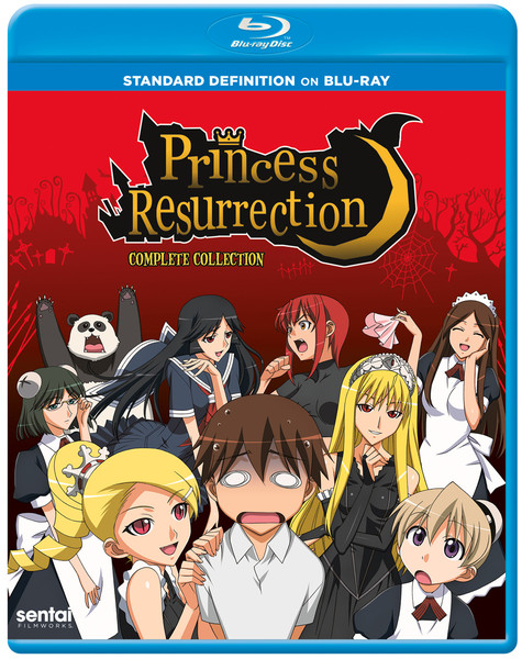 Princess Resurrection Complete Collection Blu-ray