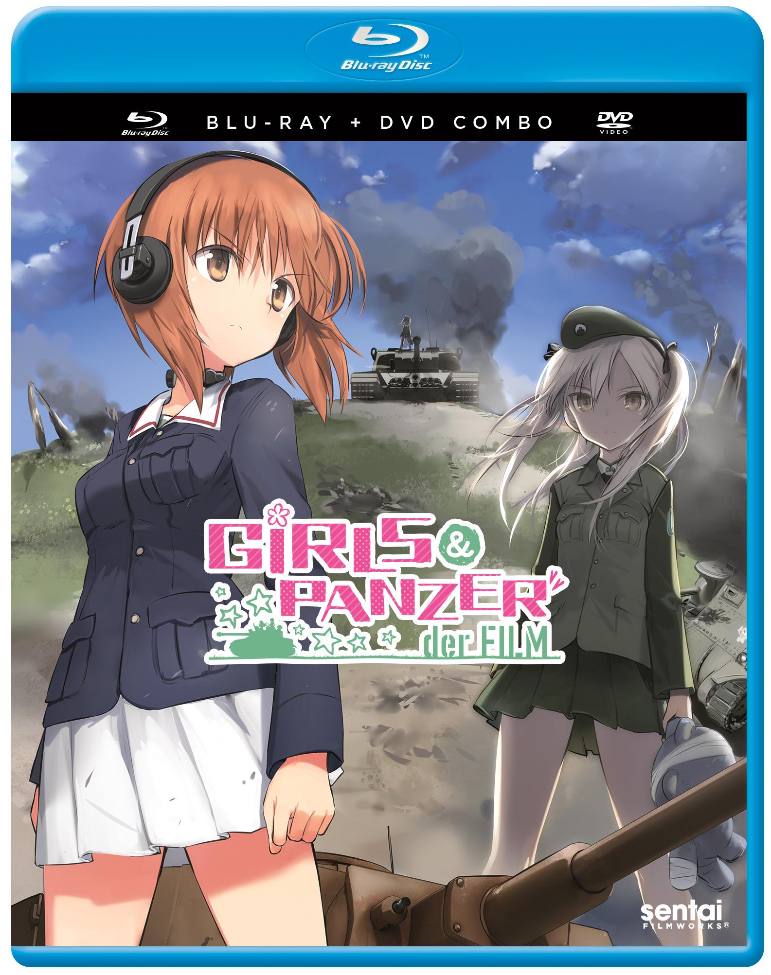 Girls und Panzer der Film Blu-ray/DVD 816726025506