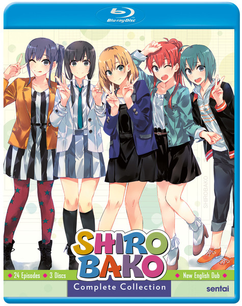 Shirobako Complete Collection Blu-ray
