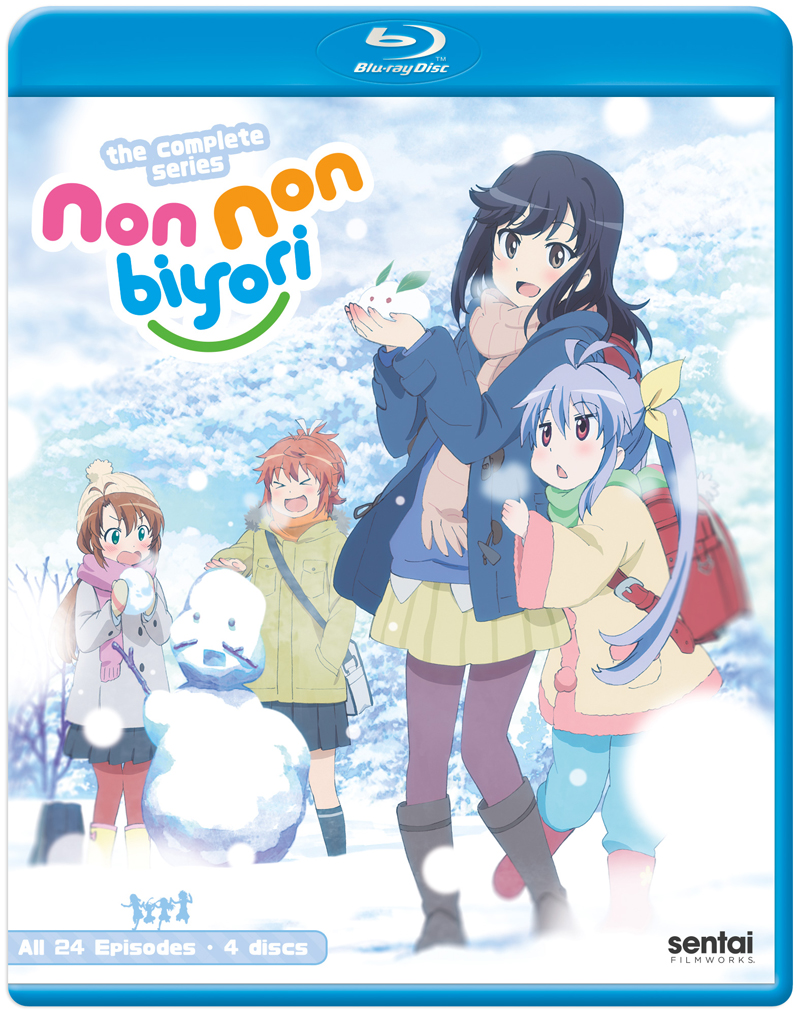 Non Non Biyori Complete Collection Blu-ray 816726025810