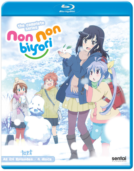 Non Non Biyori Complete Collection Blu-ray