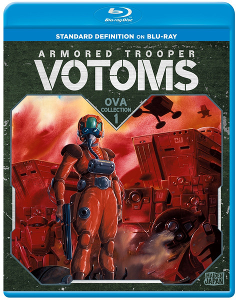 Armored Trooper VOTOMS OVA Collection 1 Blu-ray