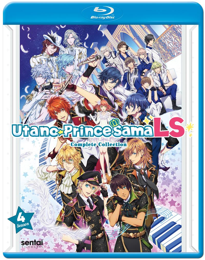 Uta No Prince-Sama Legend Star Season 4 Blu-Ray 816726026015