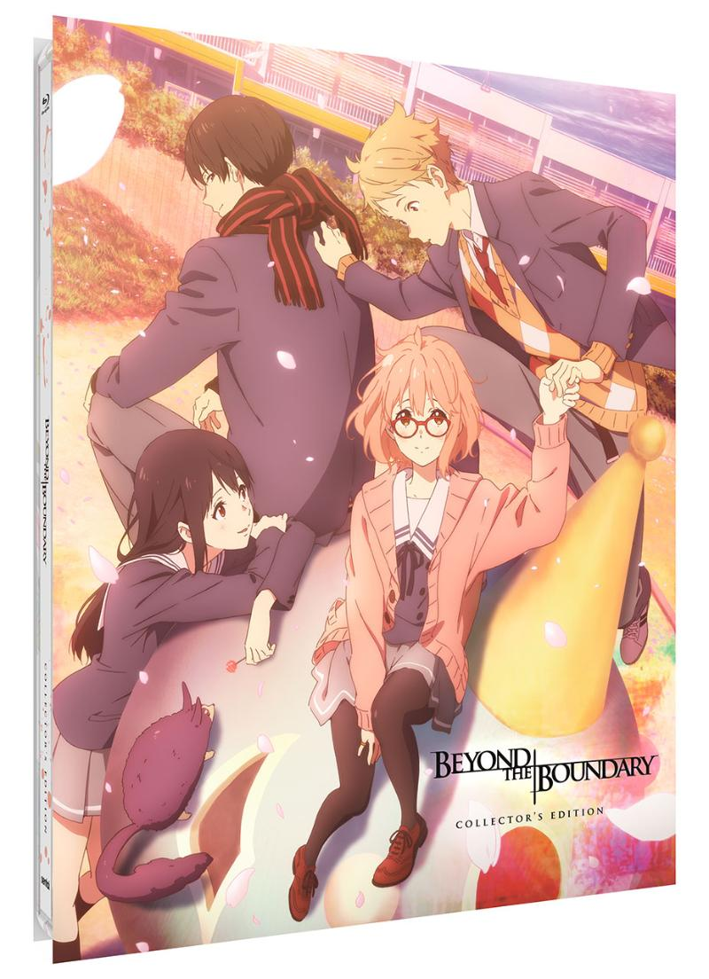 Beyond the Boundary TV Series + Movie Collection Steelbook Blu-ray