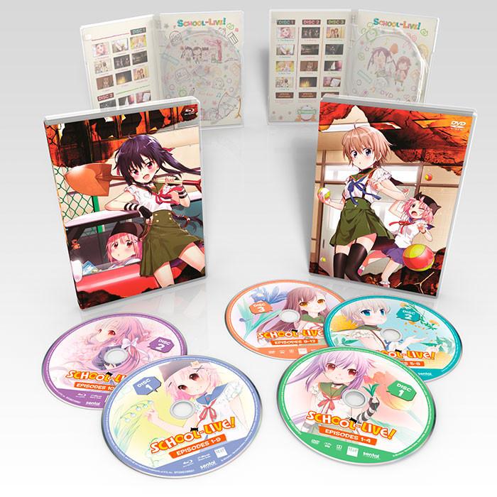 SCHOOL-LIVE! Premium Box Set Blu-ray/DVD
