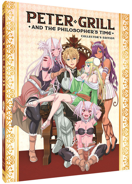 Peter Grill and the Philosopher's Time Steelbook Blu-ray