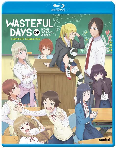 Wasteful Days of High School Girls Blu-ray