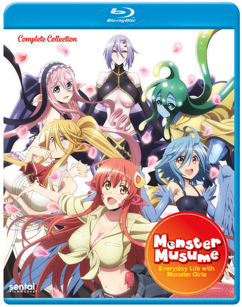 Monster Musume Everyday Life With Monster Girls Blu-Ray