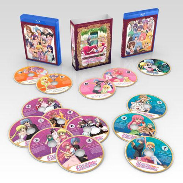 Hayate the Combat Butler Ultimate Collection Blu-ray