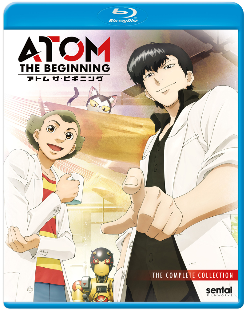 ATOM THE BEGINNING Blu-ray 816726027111