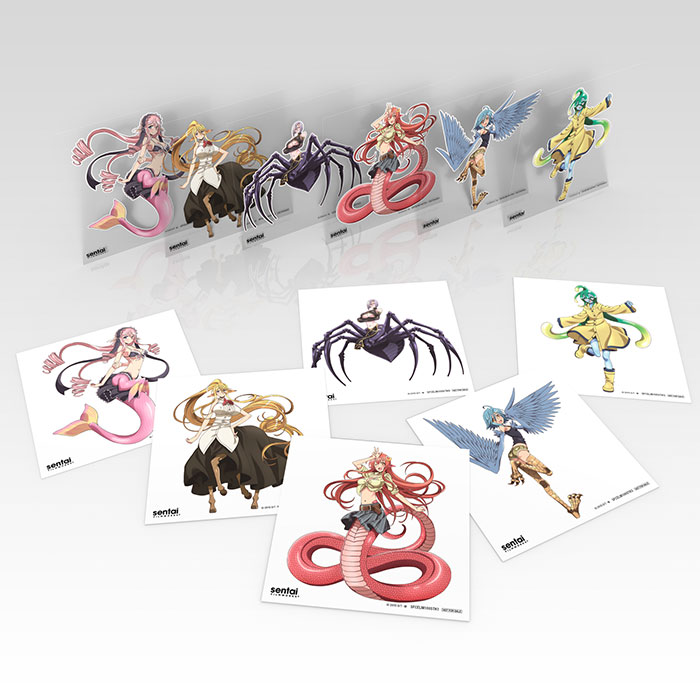 Monster Musume Everyday Life with Monster Girls Premium Edition Box Set Blu-ray/DVD