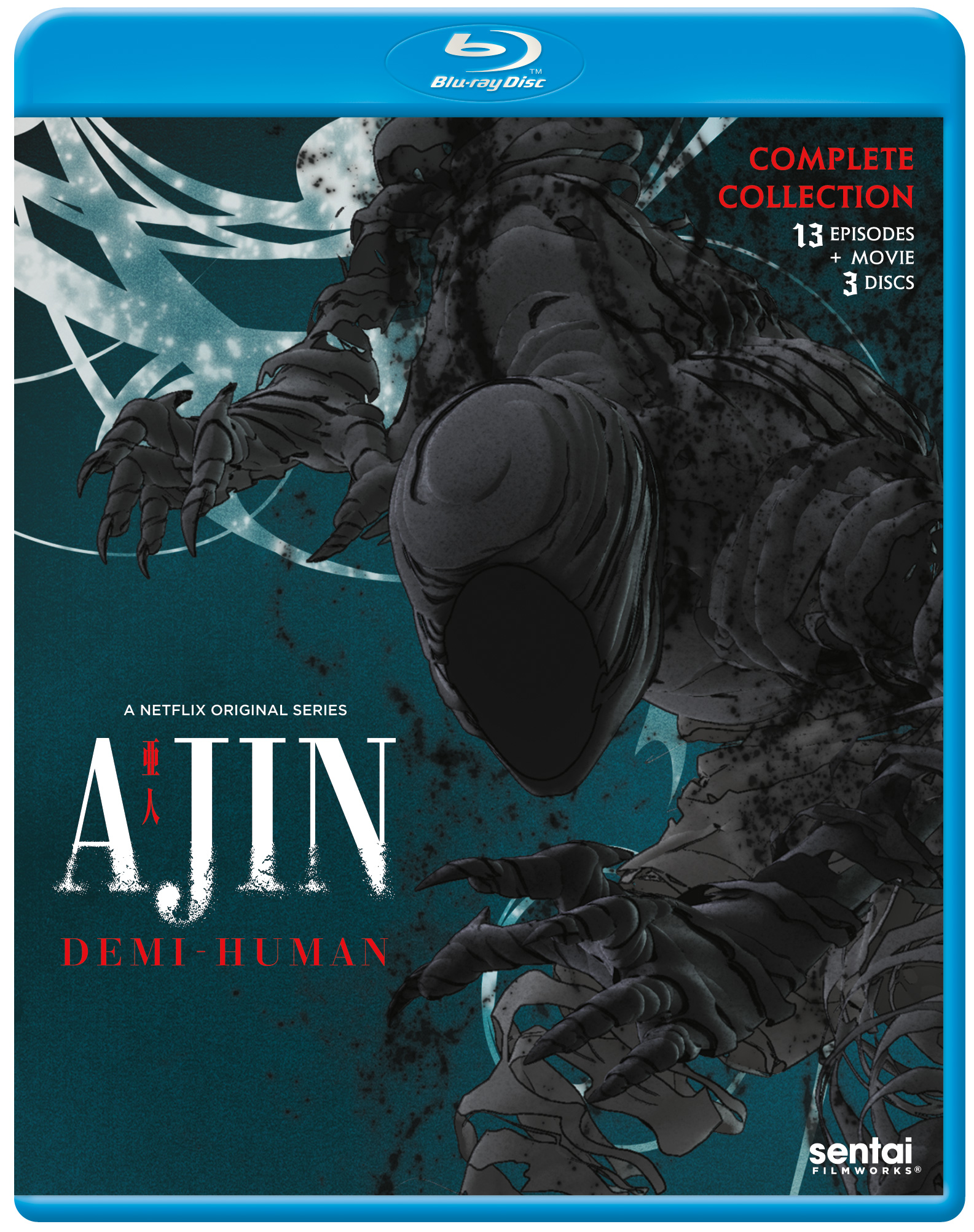 Ajin Season 1 Blu-ray 816726027302