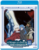 Is It Wrong to Try to Pick Up Girls in a Dungeon?! Season 3 Blu-ray