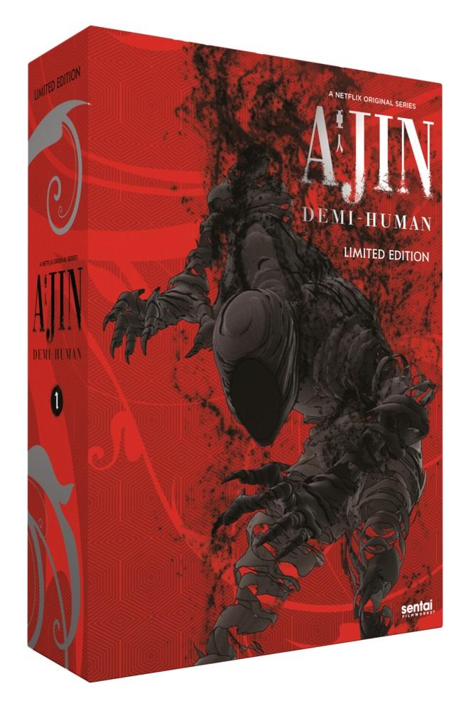 Ajin Season 1 Premium Edition Box Set Blu-ray/DVD 816726027500