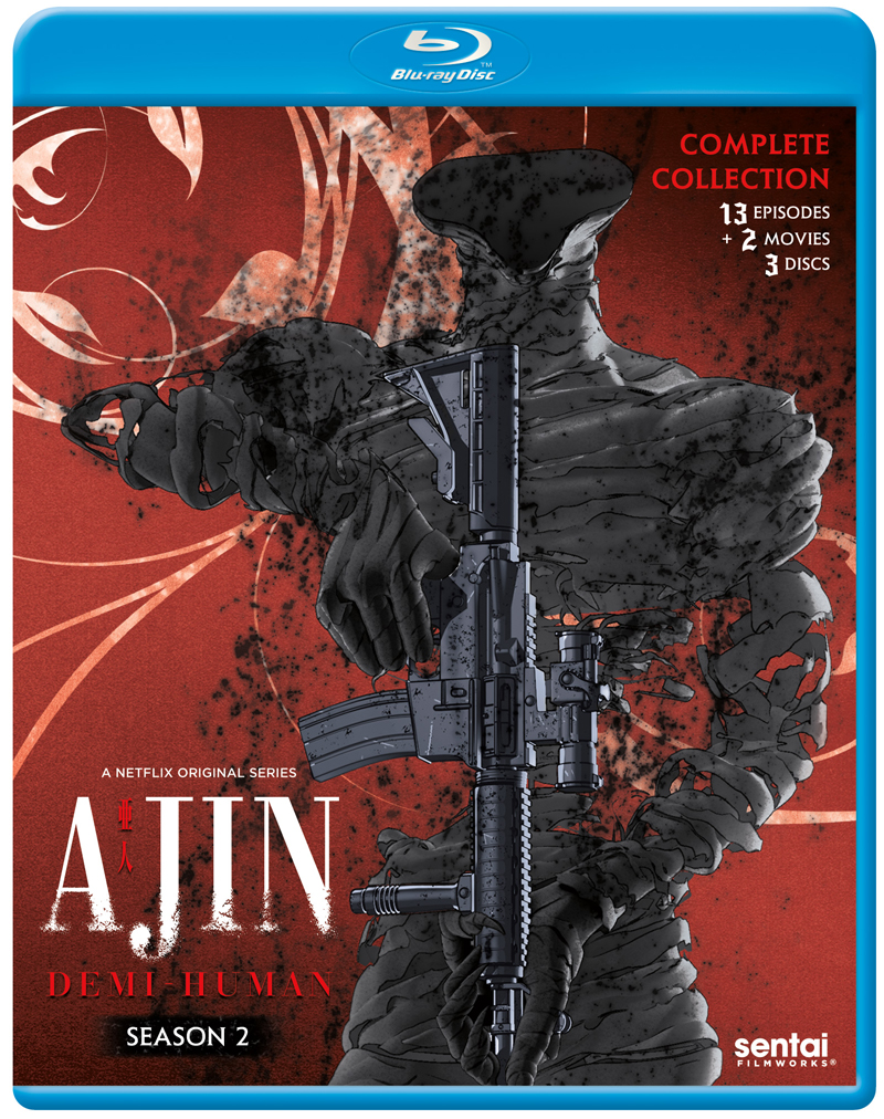 Ajin Demi-Human Season 2 Blu-Ray 816726027517