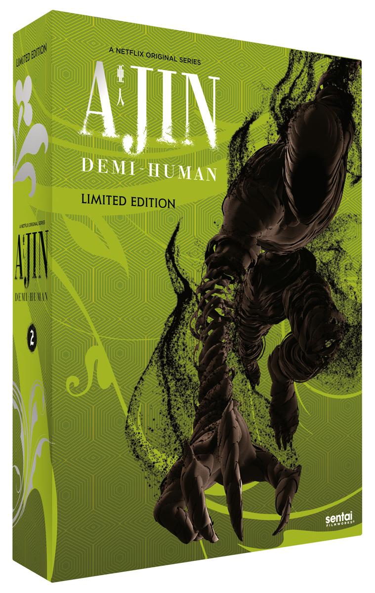Ajin Demi-Human Season 2 Premium Edition Box Set Blu-Ray/DVD 816726027715