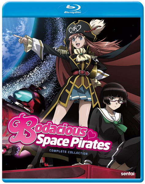Bodacious Space Pirates Complete Collection Blu-ray